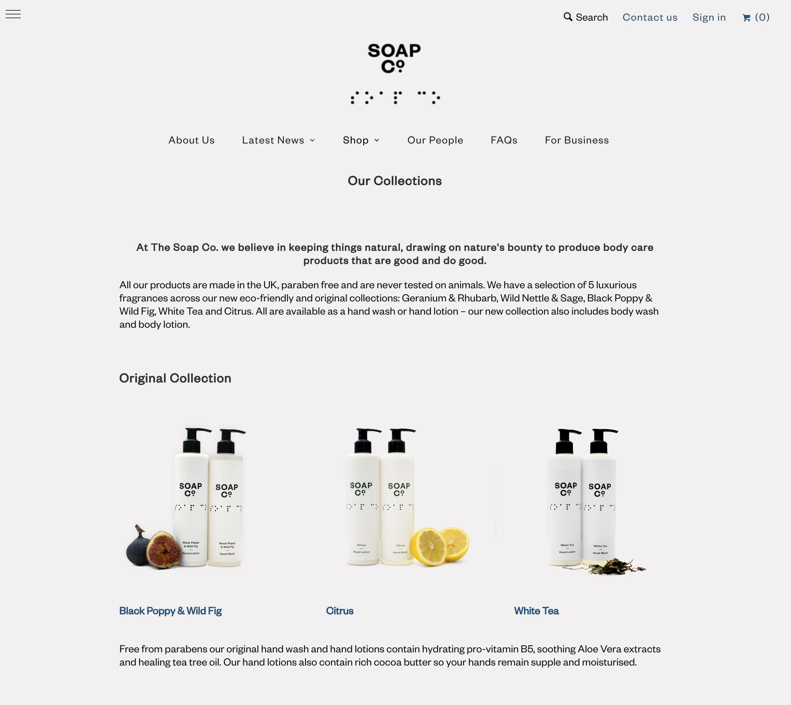 shoap-co ecommerce design