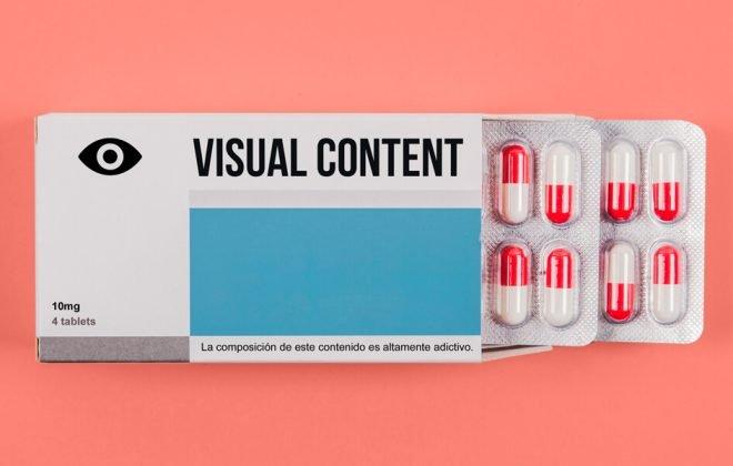 contenido visual pastillas