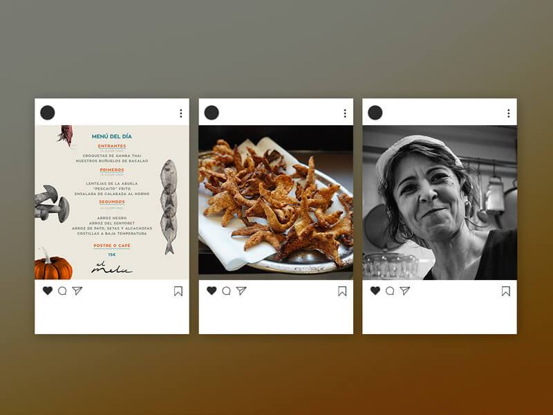 redes sociales para restaurantes. foodstyling